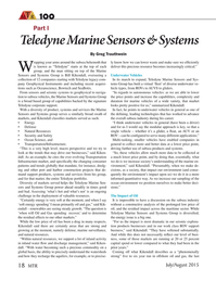 Marine Technology Magazine, page 18,  Jul 2015