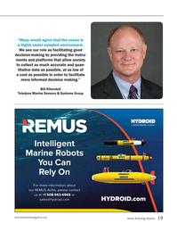 Marine Technology Magazine, page 19,  Jul 2015