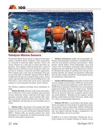 Marine Technology Magazine, page 22,  Jul 2015