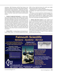 Marine Technology Magazine, page 23,  Jul 2015