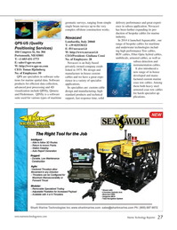Marine Technology Magazine, page 27,  Jul 2015
