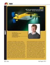 Marine Technology Magazine, page 30,  Jul 2015