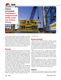 Marine Technology Magazine, page 36,  Jul 2015