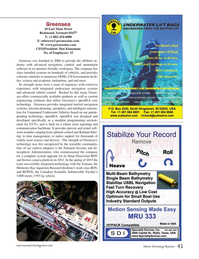 Marine Technology Magazine, page 45,  Jul 2015