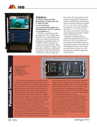 Marine Technology Magazine, page 54,  Jul 2015