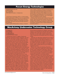 Marine Technology Magazine, page 63,  Jul 2015