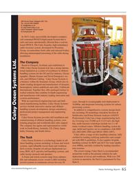 Marine Technology Magazine, page 65,  Jul 2015