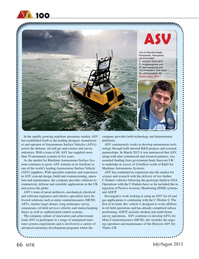 Marine Technology Magazine, page 66,  Jul 2015