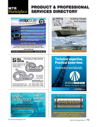 Marine Technology Magazine, page 79,  Jul 2015