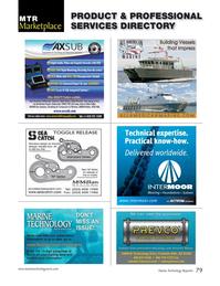 Marine Technology Magazine, page 79,  Jul 2015