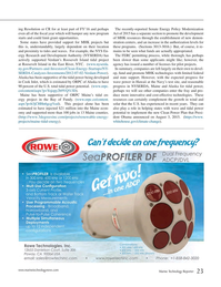 Marine Technology Magazine, page 23,  Sep 2015