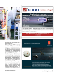 Marine Technology Magazine, page 35,  Sep 2015