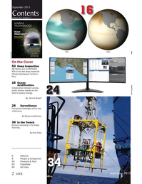Marine Technology Magazine, page 2,  Sep 2015