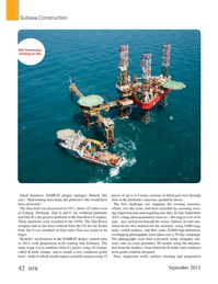 Marine Technology Magazine, page 42,  Sep 2015