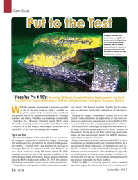 Marine Technology Magazine, page 46,  Sep 2015