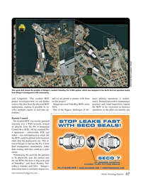 Marine Technology Magazine, page 47,  Sep 2015