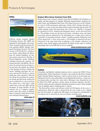 Marine Technology Magazine, page 56,  Sep 2015