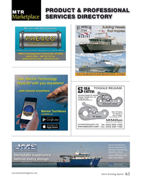 Marine Technology Magazine, page 63,  Sep 2015