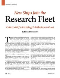 Marine Technology Magazine, page 14,  Oct 2015