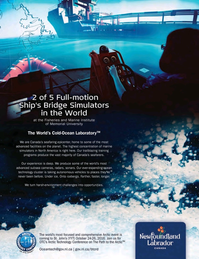Marine Technology Magazine, page 15,  Oct 2015