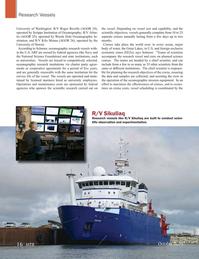 Marine Technology Magazine, page 16,  Oct 2015