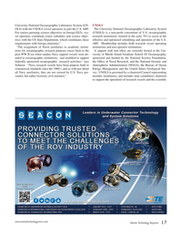 Marine Technology Magazine, page 17,  Oct 2015
