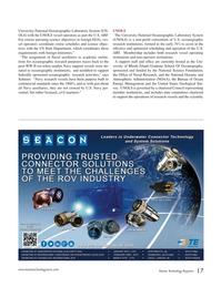 Marine Technology Magazine, page 17,  Oct 2015