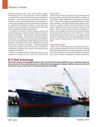 Marine Technology Magazine, page 18,  Oct 2015