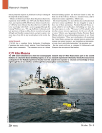 Marine Technology Magazine, page 20,  Oct 2015