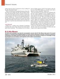 Marine Technology Magazine, page 20,  Oct 2015