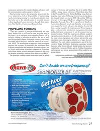 Marine Technology Magazine, page 27,  Oct 2015
