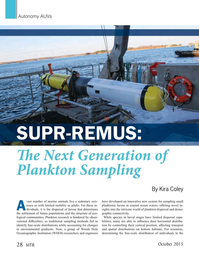 Marine Technology Magazine, page 28,  Oct 2015