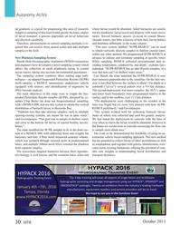 Marine Technology Magazine, page 30,  Oct 2015