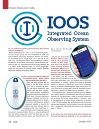 Marine Technology Magazine, page 34,  Oct 2015