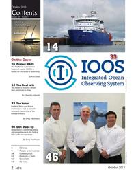 Marine Technology Magazine, page 2,  Oct 2015