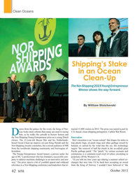 Marine Technology Magazine, page 42,  Oct 2015