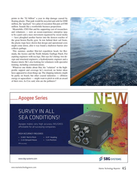 Marine Technology Magazine, page 45,  Oct 2015