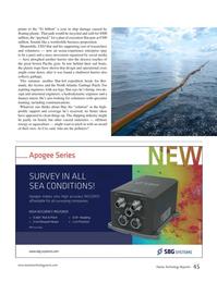 Marine Technology Magazine, page 45,  Oct 2015