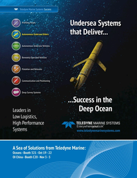 Marine Technology Magazine, page 3,  Oct 2015
