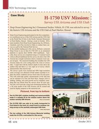 Marine Technology Magazine, page 48,  Oct 2015