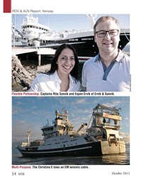 Marine Technology Magazine, page 54,  Oct 2015