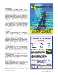 Marine Technology Magazine, page 55,  Oct 2015