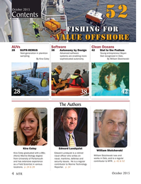 Marine Technology Magazine, page 4,  Oct 2015