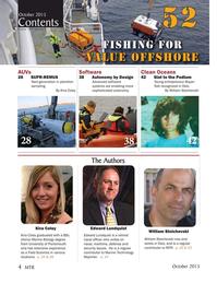 Marine Technology Magazine, page 4,  Oct 2015