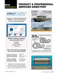 Marine Technology Magazine, page 63,  Oct 2015