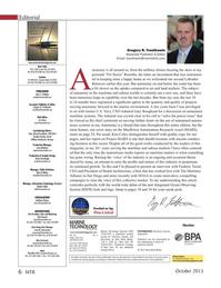 Marine Technology Magazine, page 6,  Oct 2015