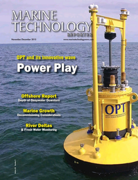 Marine Technology Magazine Cover Nov 2015 -
