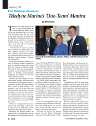 Marine Technology Magazine, page 8,  Nov 2015