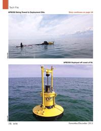 Marine Technology Magazine, page 16,  Nov 2015