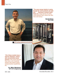 Marine Technology Magazine, page 18,  Nov 2015